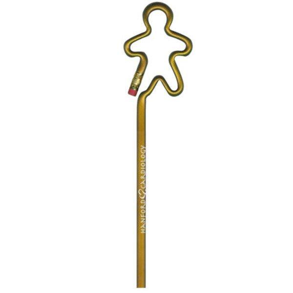 Gingerbread Man Bentcil® Pencil