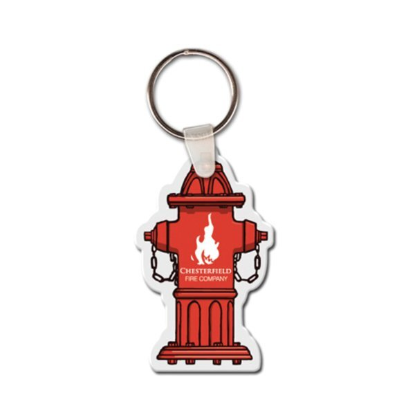 Fire Hydrant Full Color Key Tag