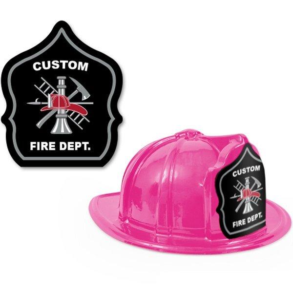 Fire Station Favorite Hat  Black Shield Design