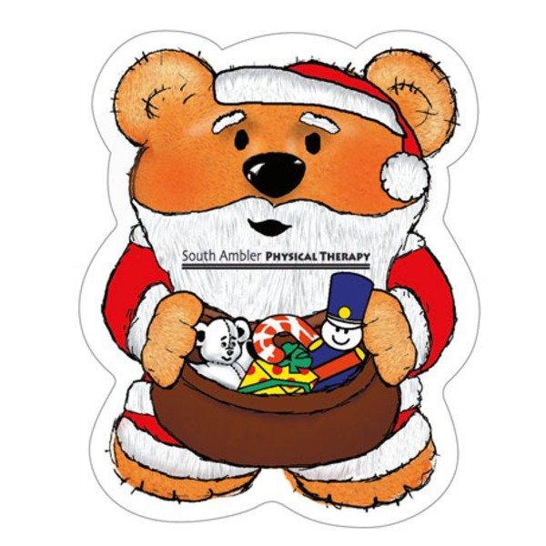 Santa Bear Magnet