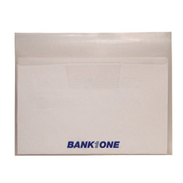 "Junior Horizontal Poly Envelope with Tuck-In Flap, 9"" x 7"""