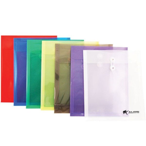 "Vertical Poly Envelope with String Closure, 9-3/4"" x 11-3/4"""