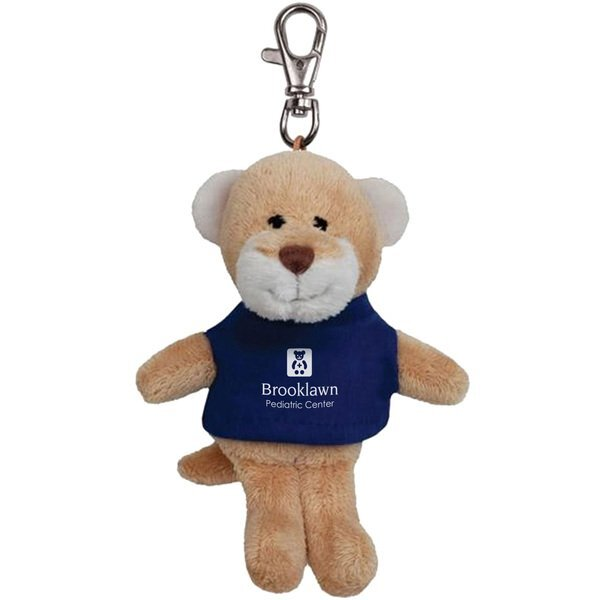 Cougar Wild Bunch Plush Key Tag