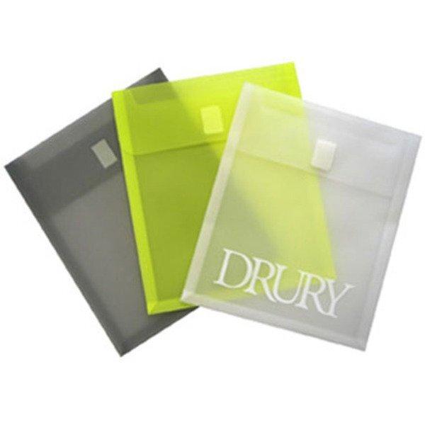 "Vertical Velcro Epoly Envelope, 9-3/4"" x 11-3/4"""