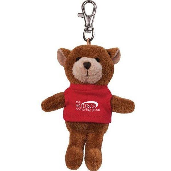 Bear Wild Bunch Plush Key Tag