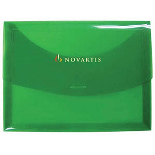"Hard Poly Envelope with Tuck-In Closure, 12-1/2"" x 9-1/2"""