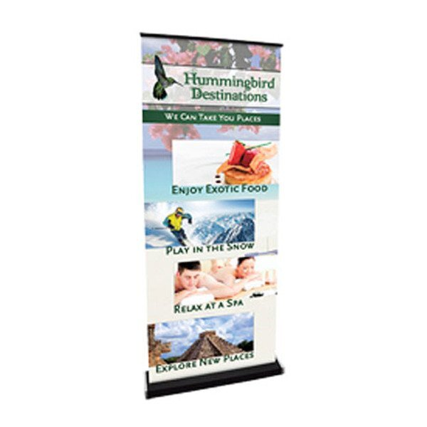 """Viewpoint Retractor Banner Display Kit, 81""""H"""