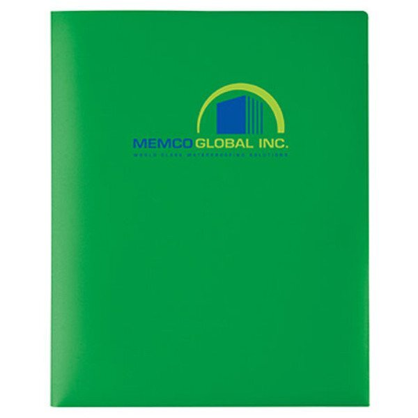 Bold Opaque Color Twin Pocket Folder