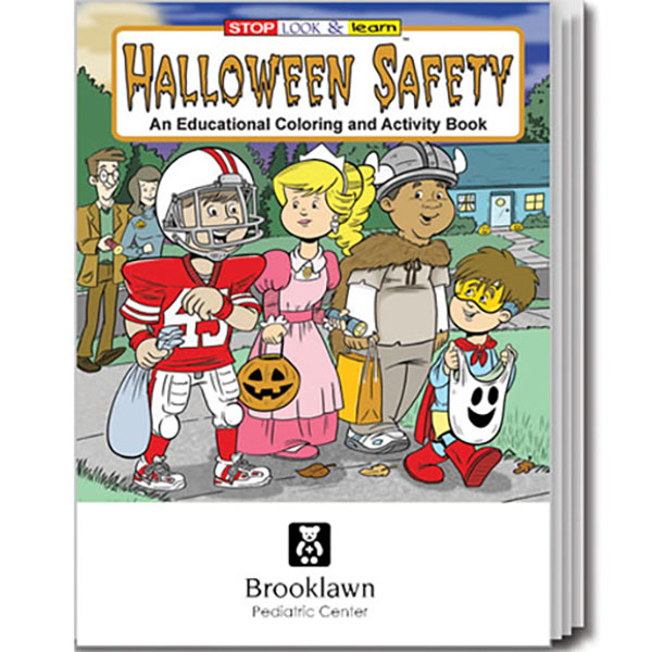 Halloween Safety Coloring & Activity Book