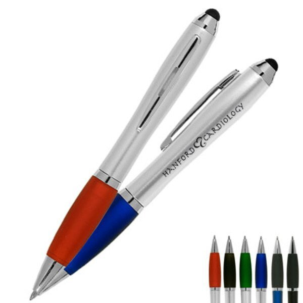 Ergonomic Ballpoint Pen & Stylus