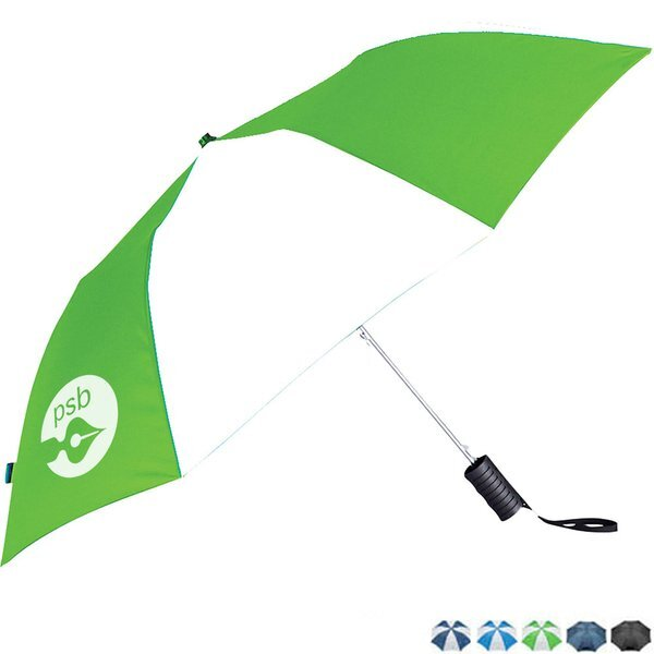 "Compact Auto Folding Umbrella, 42"" Arc"