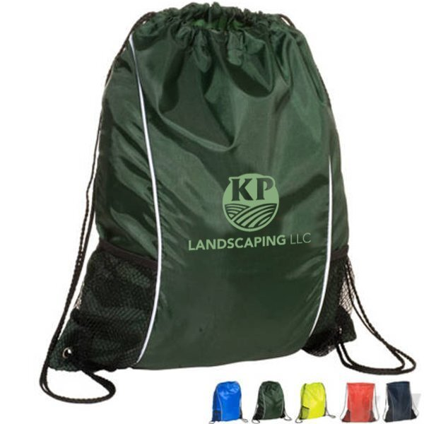 Sportsman String-A-Sling 210D Polyester Backpack