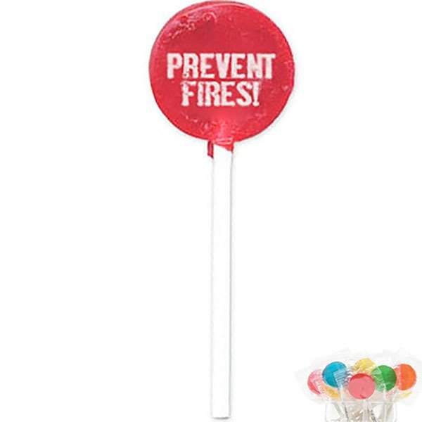 Prevent Fires Lollipop, Stock