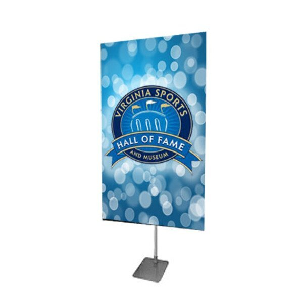 "Rotatable Banner Display Kit, 59"" x 62"""