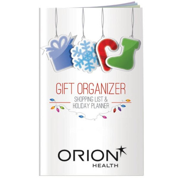 Happy Holidays Gift Organizer & Holiday Planner
