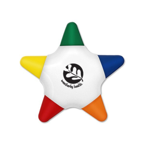 Crayo-Star™ Five Color Star Crayon