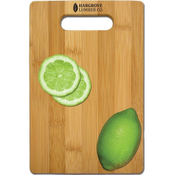 "Bamboo Cutting Board, 6"" x 9"""