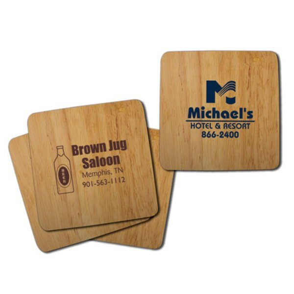 Eco Friendly Bamboo Coaster