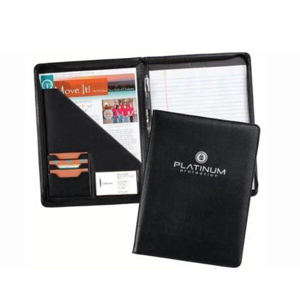 Milan Zippered Pad Folder