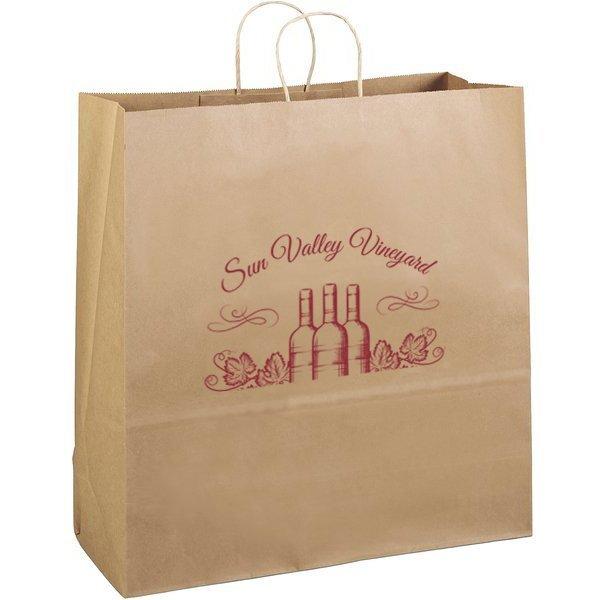 """Eco Paper Shopper Bag, 18"""" x 18-3/4"""""""