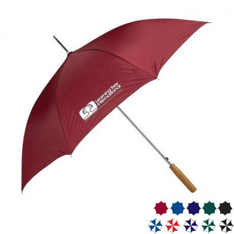 "Auto Open Stick Umbrella, 48"" Arc"