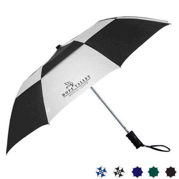 "Zephyr Vented Auto Open Umbrella, 42"" Arc"