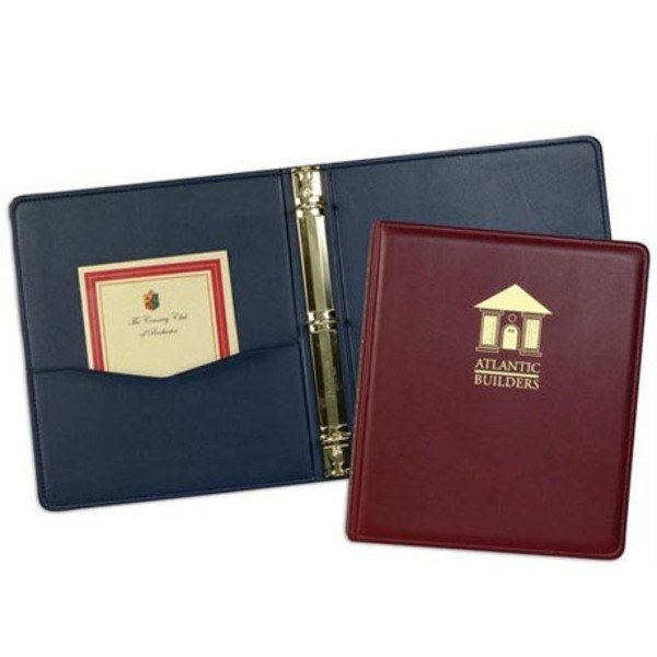 Monaco Simulated Leather Ring Binder, 1""