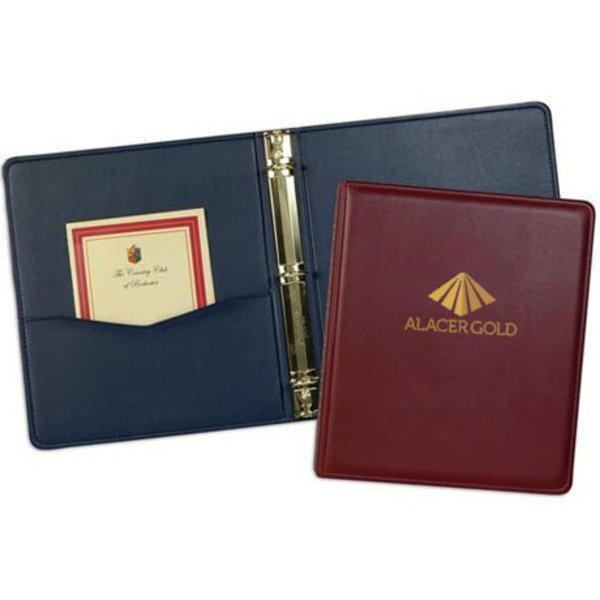 Monaco Simulated Leather Ring Binder, 2""