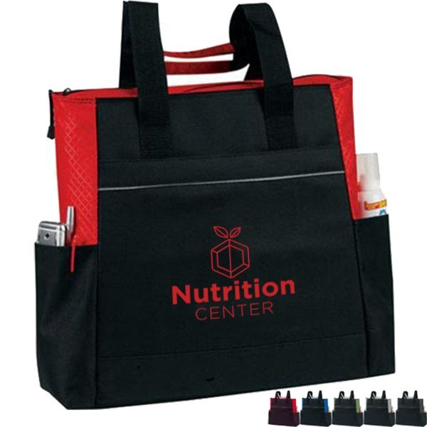 Event 210D Polyester Zip Tote
