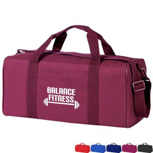 Economy Squared 600D Athletic Duffel, 19""