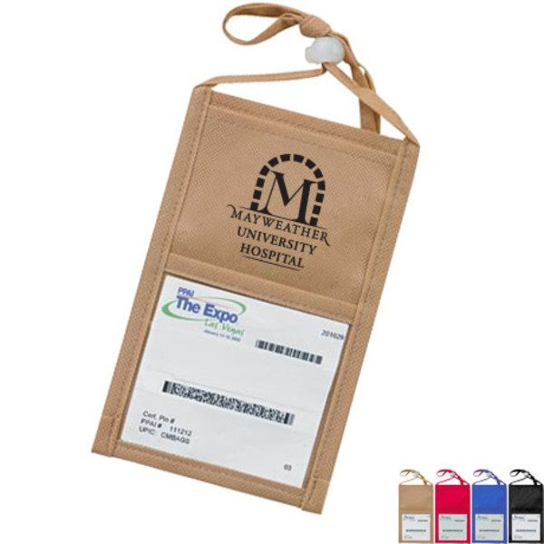 Travel ID Non-Woven Holder