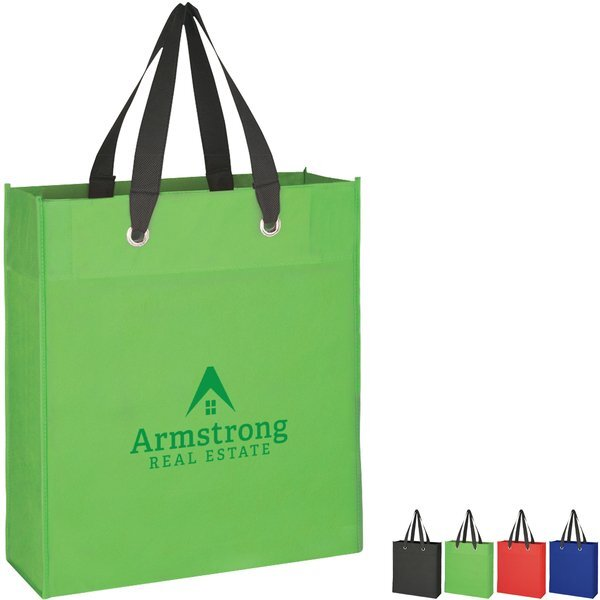 Grommeted Non-Woven Tote