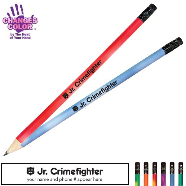 Jr. Crimefighter Mood Color Changing Pencil