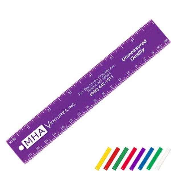 "Plastic Ruler, 7"""