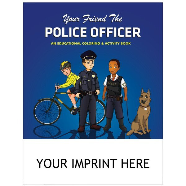 Your Friend the Police Officer Coloring & Activity Book