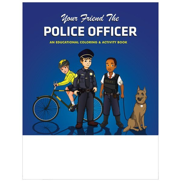 Your Friend the Police Officer Coloring & Activity Book, Stock