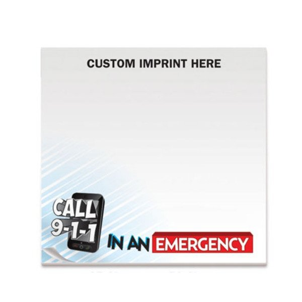 Call 911, 25 Sheet Sticky Pad