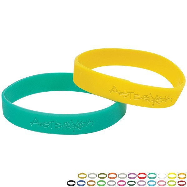 Silicone Awareness Wristband Bracelet