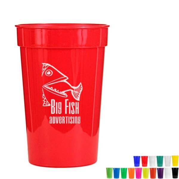 Smooth Stadium Cup, 17oz.