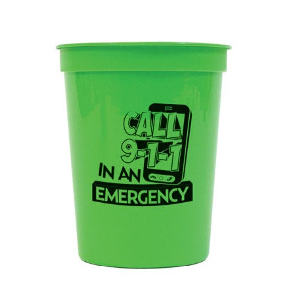 Call 911 Stadium Cup, 17 oz., Stock