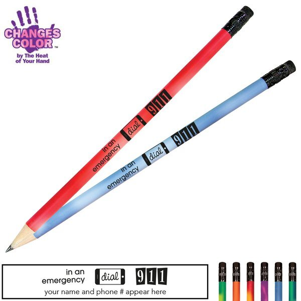 Dial 911 Mood Color Changing Pencil