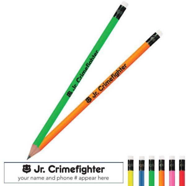 Jr. Crimefighter Neon Pencil