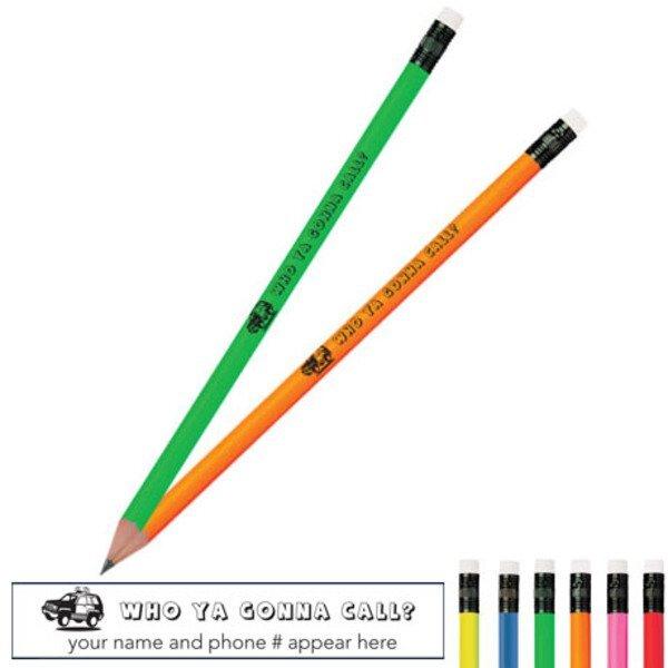 Who Ya Gonna Call SUV Neon Pencil
