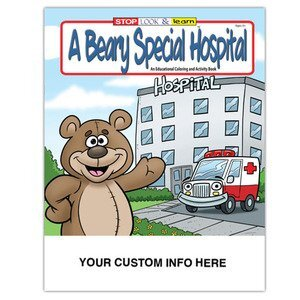 Promotional Coloring Books   Custom Printed Coloring & Activity ...
