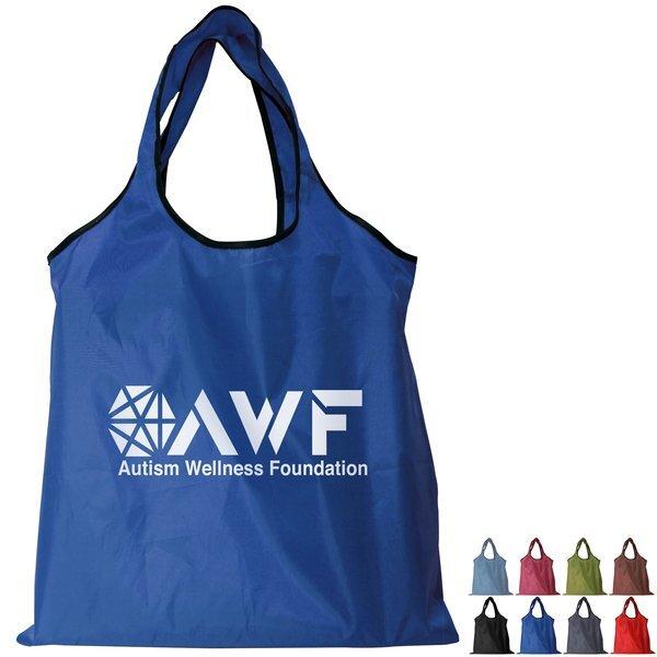 Recycled PET Fold-Away Carryall Bag