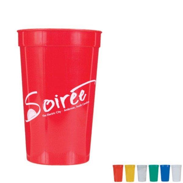 Smooth Stadium Cup, 22oz., BPA Free