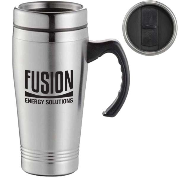Everest Stainless Travel Mug, 16 oz