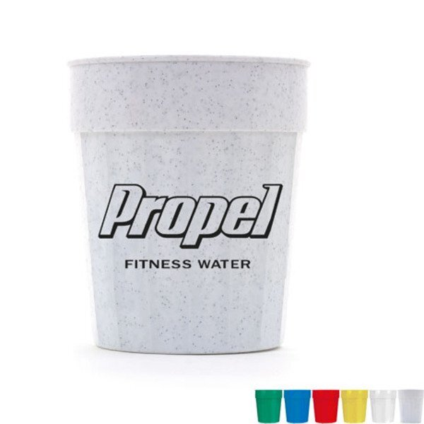Fluted Stadium Cup, 16oz., BPA Free