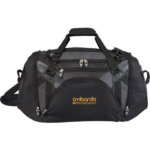 Vertex 600D Polyester Athletic Duffel, 26""