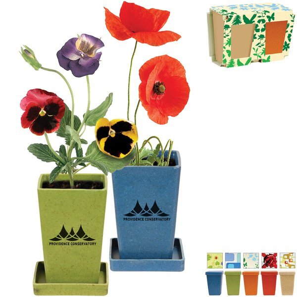 Flower Planter Garden Set, 2 Pack